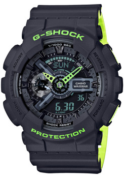 G-Shock GA-110 Layered Neon Gray (GA110LN-8A)