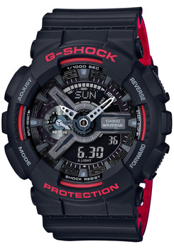 G-Shock GA-110 Anadigi Black Red (GA110HR-1A)