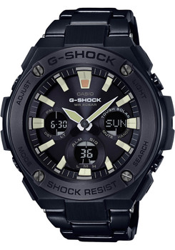 G-Shock G-Steel All Black Lume (GSTS10BD-1A)