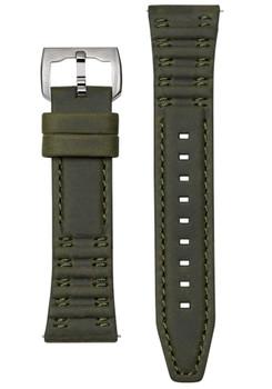 REC P-51 24mm Army Green Watch Strap (REC-LTHR-24-GREEN)