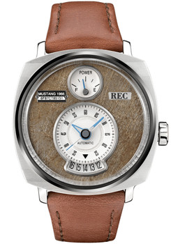 REC P51-02 Automatic Silver Brown Limited Edition (P51-02)