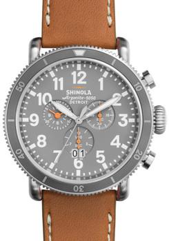 Shinola Runwell Sport Chronograph Tan (S0120001121) front