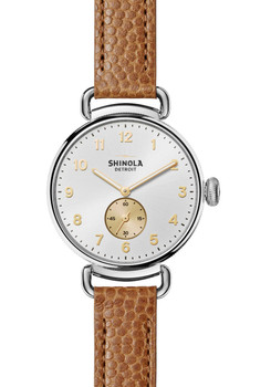 Shinola Canfield Dark Camel (S0120044130) front