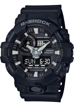 G-Shock GA-700 Anadigi All Black (GA700-1B)
