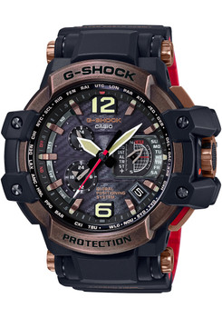 G-Shock Gravitymaster Solar GPS Hybrid Antique Rose Gold