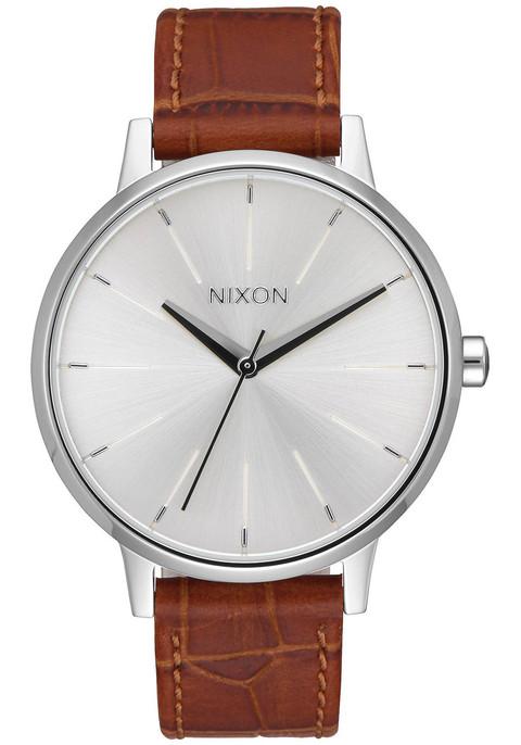 Nixon Kensington Leather Silver Saddle (A1082094)