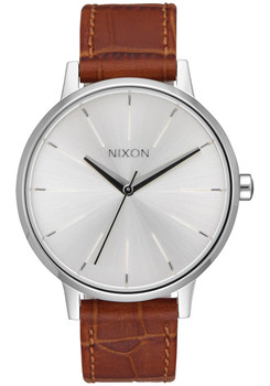 Nixon Kensington Leather Silver Saddle (A1082094)