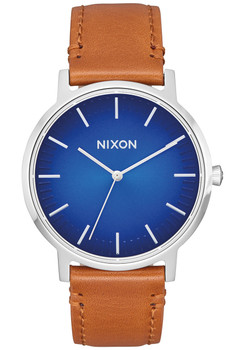 Nixon Porter Leather Blue Ombre Saddle (A10582694)