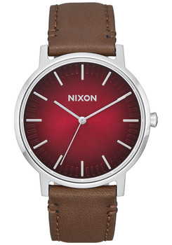 Nixon Porter Leather Oxblood Ombre Taupe (A10582695)