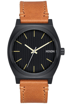 Nixon Time Teller Black Stamped Brown (A0452664)