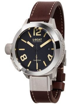 U-Boat Classico 45 Automatic Tungsteno AS 1 Black (8094)