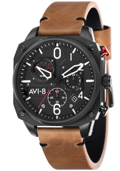 AVI-8 Hawker Hunter AV-4052-02 Chronograph Brown (AV-4052-02)