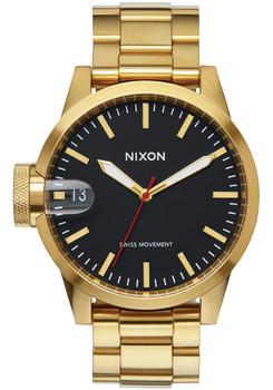 Nixon Chronicle 44 All Gold Black (A441510)