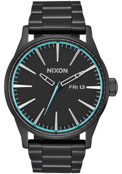 Nixon Sentry SS All Black Blue (A356602)