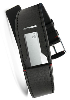 Klokers KLINK-01-MC1 Satin Black Leather Strap (KLINK-01-MC1)