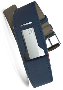 Klokers KLINK-01-MC3 Indigo Blue Leather Strap (KLINK-01-MC3)