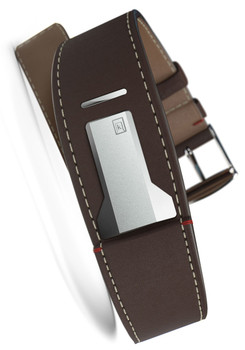Klokers KLINK-01-MC4 Chocolate Brown Leather Strap (KLINK-01-MC4)