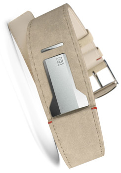 Klokers KLINK-01-MC6 Grey Alcantara Strap (KLINK-01-MC6)