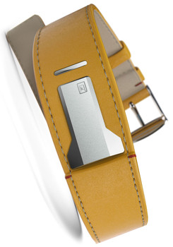 Klokers KLINK-01-MC7 Newport Yellow Leather Strap (KLINK-01-MC7)