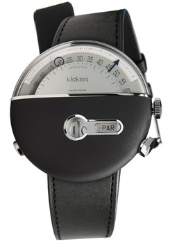 Klokers KLOK-02-D3 Satin Black Leather (KLOK-02-D3-KLINK-01-MC1)