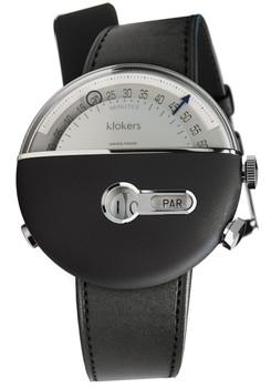 Klokers KLOK-02-D3 Satin Black Leather (KLOK-02-D3-KLINK-01-MC1)
