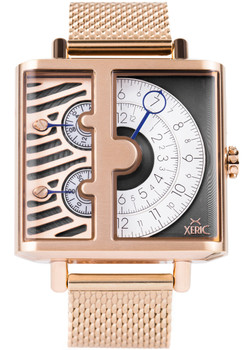 Xeric Soloscope SQ Rose Gold Mesh (SSQ-3019-MESH)