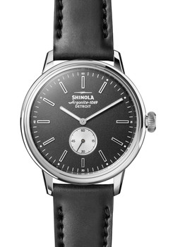 Shinola Bedrock 42mm Black Cordovan (S0120058980)