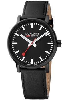 Mondaine Evo 2 Big All Black (MSE-40121-LB)