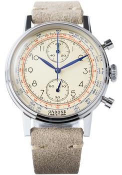 Undone Urban Vintage Killy Chronograph Silver (UND-URB-FIX-VIN-KILLY)