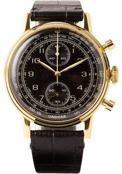 Undone Urban Vintage Navi Chronograph Gold (UND-URB-FIX-VIN-NAVI)