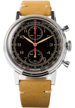 Undone Watches.com Exclusive Urban Vintage Navi Silver (UND-URB-BYO-WTC-VIN-NAVI-SIL)