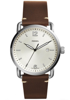 Fossil FS5275 Commuter Leather Champagne Brown (FS5275)
