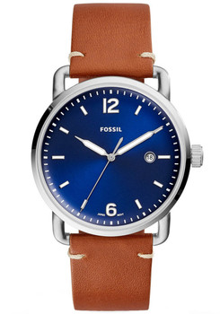 Fossil FS5325 Commuter Leather Blue Tan (FS5325)