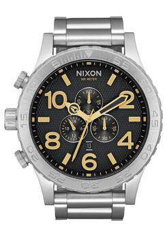 Nixon 51-30 Chrono Black Stamped Gold (A0832730)