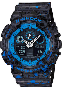 G-Shock Stash Black Limited Edition (GA100ST-2A)