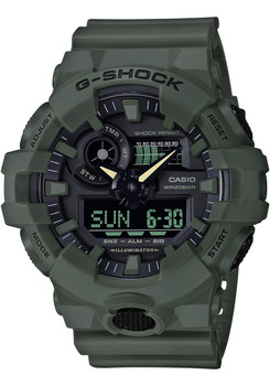 G-Shock GA700 Green (GA700UC-3A)