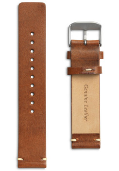Eone Bradley Chestnut Brown Leather Strap (S-BROWN)