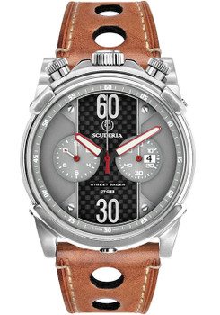 CT Scuderia Street Racer Chrono Brown Gray (CS10138)