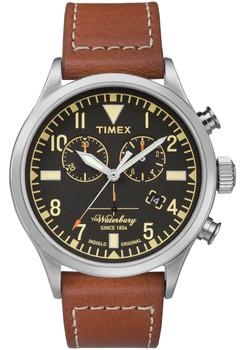 Timex Waterbury Traditional Redwing Chrono Black Brown (TW2P84300VQ)