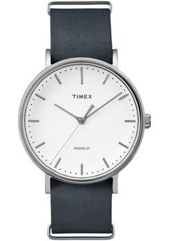 Timex Fairfield Three Hand White Black (TW2P91300VQ)