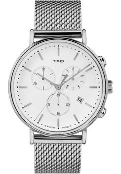 Timex Fairfield Chrono Silver Mesh (TW2R27100VQ)