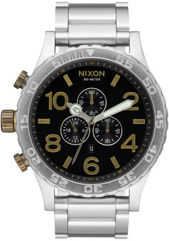 Nixon 51-30 Chrono Black Brass (A0832222)