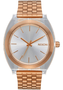 Nixon Time Teller Acetate Rose Gold Clear (A3272628)