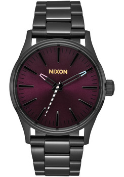 Nixon Sentry 38 SS Black Purple (A450192)
