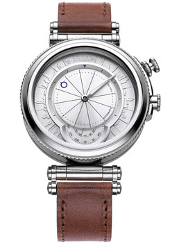 Fiyta IN Detachable Automatic Silver Brown Limited Edition (GA850000.WWR)