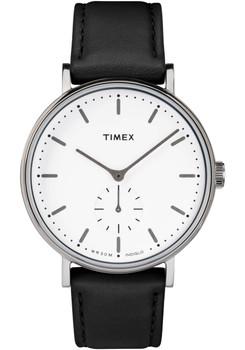 Timex Fairfield Sub Second White Black (TW2R38000VQ)