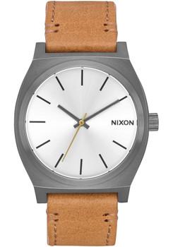 Nixon Time Teller Gunmetal Silver Tan (A0452741)