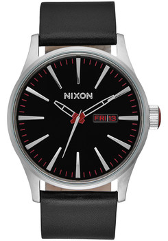 Nixon Sentry Leather Black (A105000)