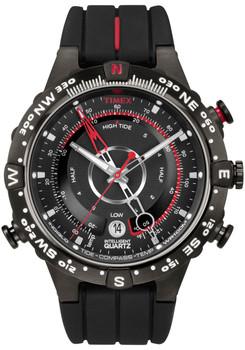 Timex Intelligent Quartz Tide Temp Compass Black (T2N720ZA)