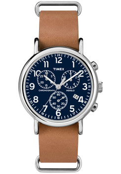 Timex Weekender Chrono Blue Tan (TW2P62300ZA)